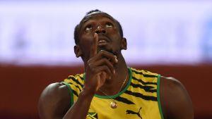 Usain Bolt kuvassa
