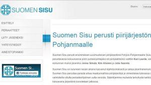 Kuvakaappaus Suomen Sisun kotisivuilta.