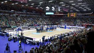 Susijengi koripallo Helsingin jäähalli