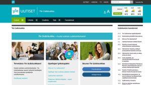 Yle Uutisluokka verkkosivut