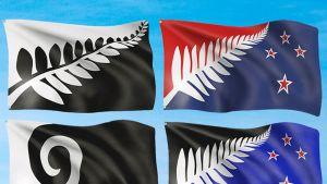 Uuden-Seelannin uudet lippuehdokkaat.