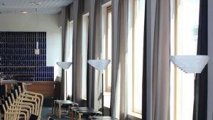 Lappia-talo lämpiö sisustus Alvar Aalto