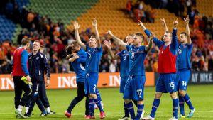 Islannin maajoukkue.