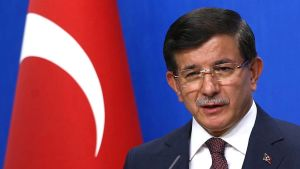 Turkin pääministeri Ahmet Davutoğlu
