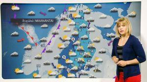 meteorologi ja sääkartta