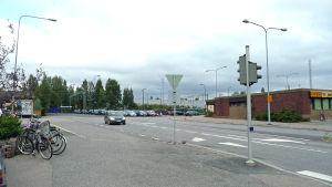Nokian kaupungin asemanseutu ja taksiasema