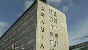 Arabian keramiikkatehdas Helsingissä.