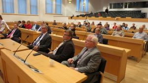 SPR:n tilaisuuteen tulleista yli puolet olivat Rovaniemen valtuustoedustajia tai muita viranomaisia.