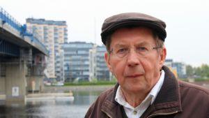 Ympäristöestetiikan emeritusprofessori Yrjö Sepänmaa.