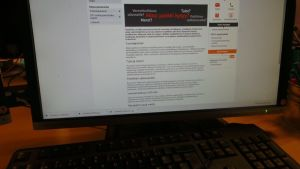 verkkopankin sivu tietokoneen ruudulla