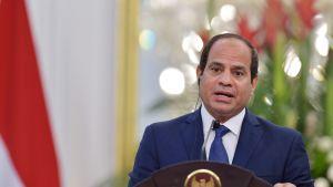 Egyptin presidentti Abdel Fattah al-Sisi valokuvassa 4. syyskuuta.