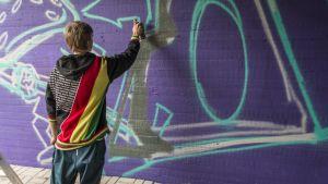 Graffitin maalausta