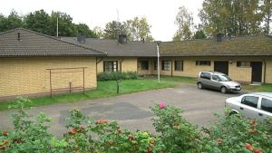 Hätämajoituskeskus Hämeenlinnan Taimistontiellä.