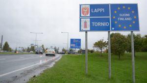 Valtakunnanraja, Tornio, Lappi, Suomi