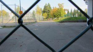 urheilupuisto Kouvolassa.
