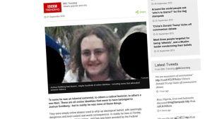 Kuvakaappaus BBC:n nettisivulta.