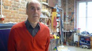 Antonio Altarriba työpajallaan.