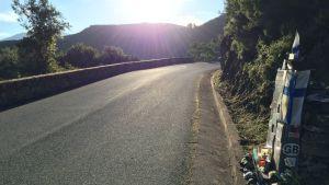 Henri Toivosen onnettomuuspaikka Korsikalla