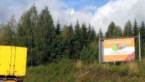 Lopen Silmänkannon yritysalue sijaitsee 54-tien varressa Riihimäen länsipuolella
