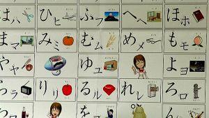 Japanilaiset aakkoset