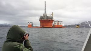 Öljynporauslautta Goljat Hammerfestissa