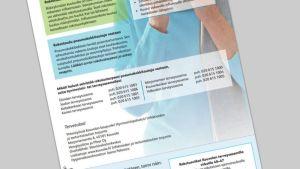 Kirje, jossa kerrotaan pneumokokkirokotteen eduista