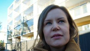 Kruunuvuorenrannan asukas Heidi Tetteh
