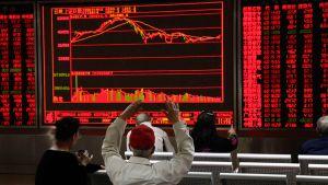 Kiina pörssikurssit.