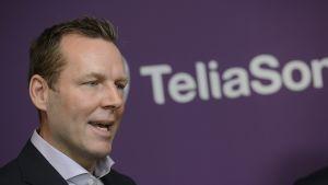 TeliaSoneran toimitusjohtaja Johan Dennelind