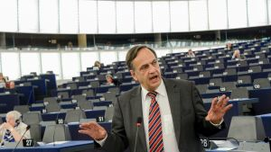 Europarlamentin S&D-ryhmän varapuheenjohtaja Knut Fleckenstein.