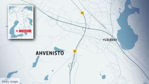 Ahveniston alue Ylöjärvellä