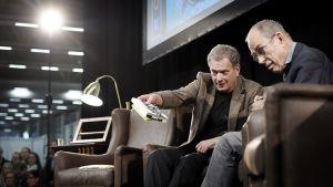 Sauli Niinistö ja Jörn Donner,