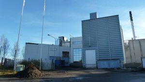 Lapin Kullan entisen oluttehtaan rakennuksia Torniossa.