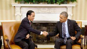 Joko Widodo ja Barack Obama.