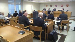 Oikeudenkäynti Kanta-Hämeen käräjäoikeudessa Hämeenlinnassa