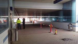 Vihdoin Porin Rautatieaseman ali kulkevaa Porttaalia siistitään ja kunnostetaan.