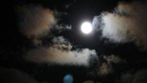 Öinen taivas Lappeenrannassa.