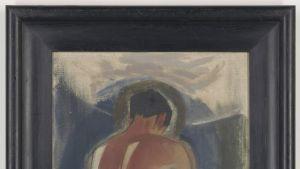 Helen Schjerfbeckin maalaus ryövari paratiisin portilla.