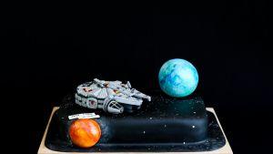 Saija Turusen koristelema kakku