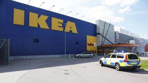 Ikean tavaratalo Västeråsissa.