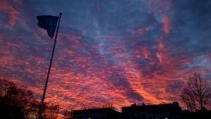 Punainen taivas