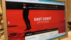 East Coast markkinointisivut