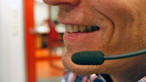 puhelinmyyjä