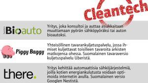 Cleantech.