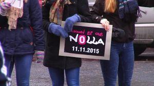 """Koulukiusaamista ja syrjäytymistä vastaan järjestettiin teemapäivä """"Kukaan ei ole nolla"""" Seinäjoella 11.11.2015"""
