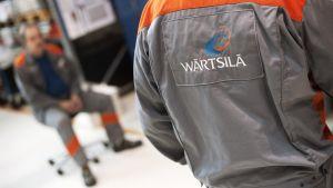 Wärtsilän Vaasan tuotantolaitos helmikuussa 2012.