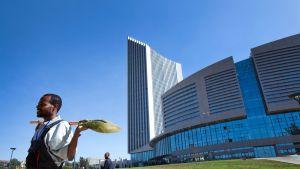 Afrikan unionin pääkonttori Addis Abebassa oli lahja Kiinalta.