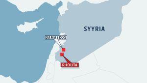 Syyrian kartta