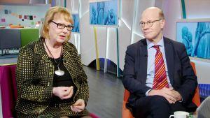 Annika Lapintie ja Kimmo Sasi