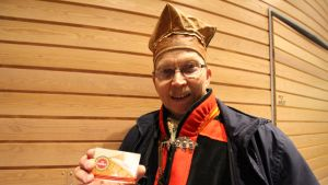 Petteri Laiti is satisfied with the Sámi Duodji-trademark, but says that it is not enough.